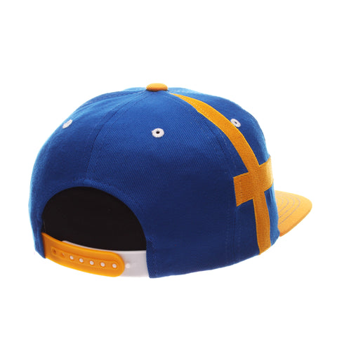 COUNTRY Victory 32/5 (High) (SWEDEN W/LINES) Royal Surf Zwool Adjustable hats by Zephyr