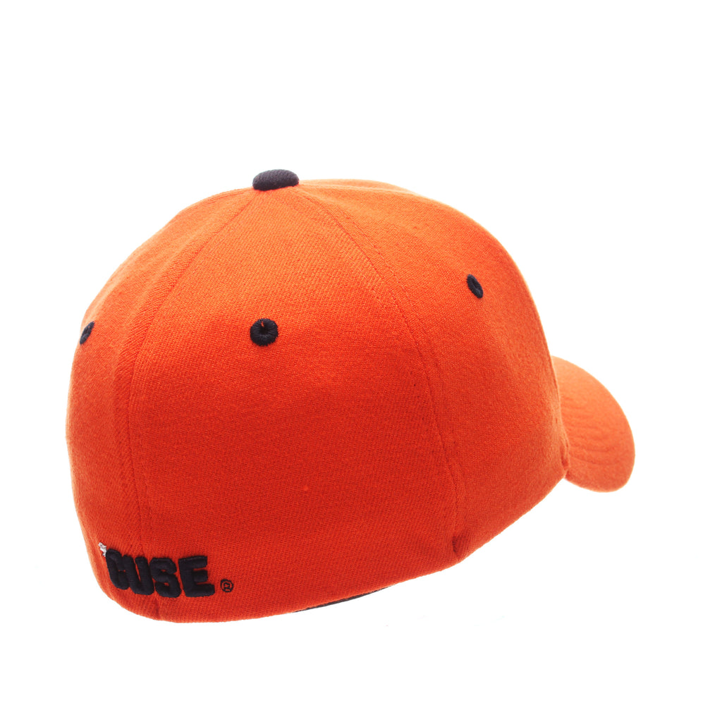 Syracuse University ZH Standard (Low) (S) Orange Zwool Stretch Fit hats by Zephyr