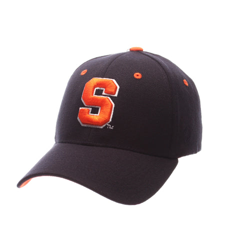 Syracuse University ZH Standard (Low) (S) Navy Dark Zwool Stretch Fit hats by Zephyr