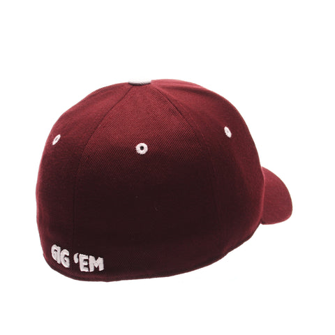 Texas A&M University DH Standard (Low) (aTm) Maroon Zwool Fitted hats by Zephyr