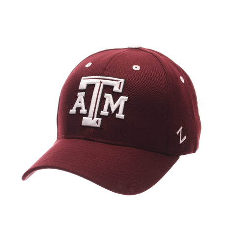 Texas A&M University Competitor Standard (Low) (ATM) Maroon Zwool Adjustable hats by Zephyr