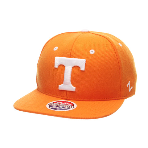 Tennessee (Knoxville) Z11 32/5 (High) (T) Orange Light Zwool Adjustable hats by Zephyr