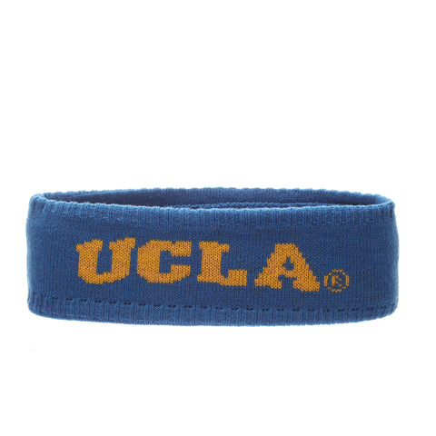 California (Los Angeles) Halo Headband (UCLA) Blue Nuggets/Gold Knit Adjustable hats by Zephyr