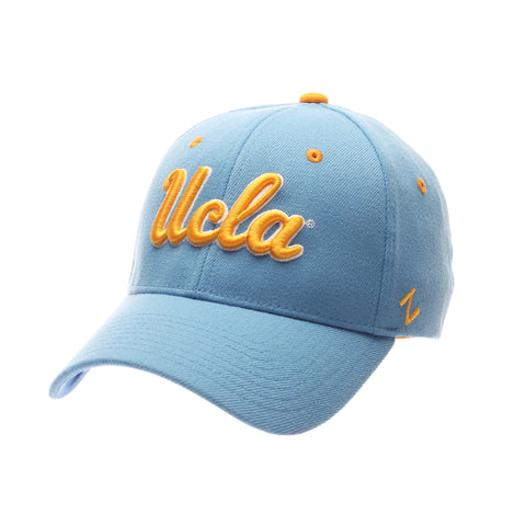 California (Los Angeles) ZHS Standard (Low) (UCLA) Blue Nuggets Zwool Stretch Fit hats by Zephyr