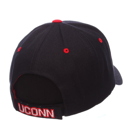 Connecticut (UCONN) Competitor Standard (Low) (HUSKY/UCONN) Navy Dark ZClassic Adjustable hats by Zephyr