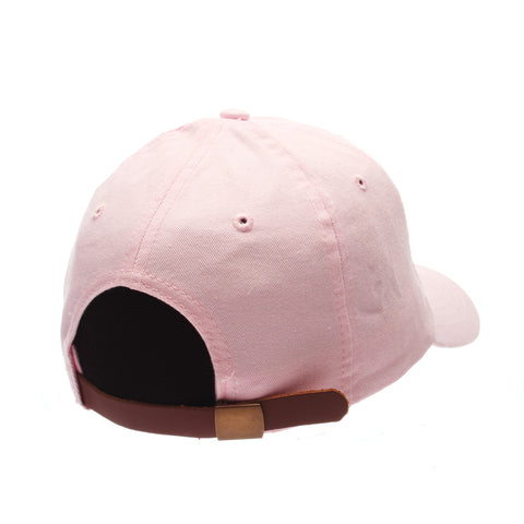 No Royalties Dad Hat (UNICORN) Pink Washed Adjustable hats by Zephyr
