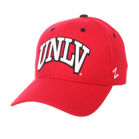 Nevada (Las Vegas) Competitor (UNLV) Red ZClassic Adjustable hats by Zephyr