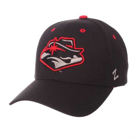 Nevada (Las Vegas) Competitor Standard (Low) (REBEL HEAD) Black ZClassic Adjustable hats by Zephyr