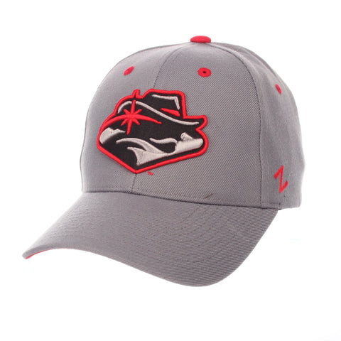 Nevada (Las Vegas) Competitor Standard (Low) (REBEL HEAD) Gray Medium ZClassic Adjustable hats by Zephyr