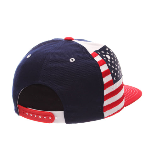 COUNTRY Victory 32/5 (High) (USA W/LINES) Varied Colors Varied Panels Adjustable hats by Zephyr