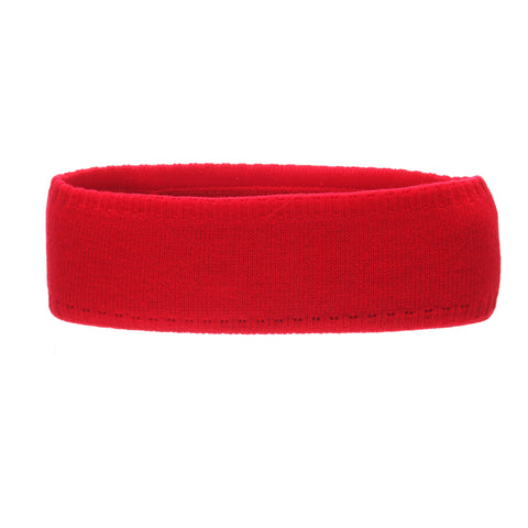 Utah Halo Headband (UTAH) Red/White Knit Adjustable hats by Zephyr