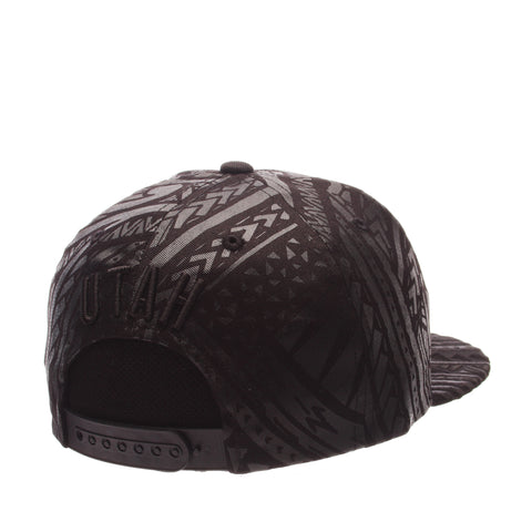 Utah Kahuku 32/5 (High) (U FEATHER) Black 100% Cotton Twill Adjustable hats by Zephyr