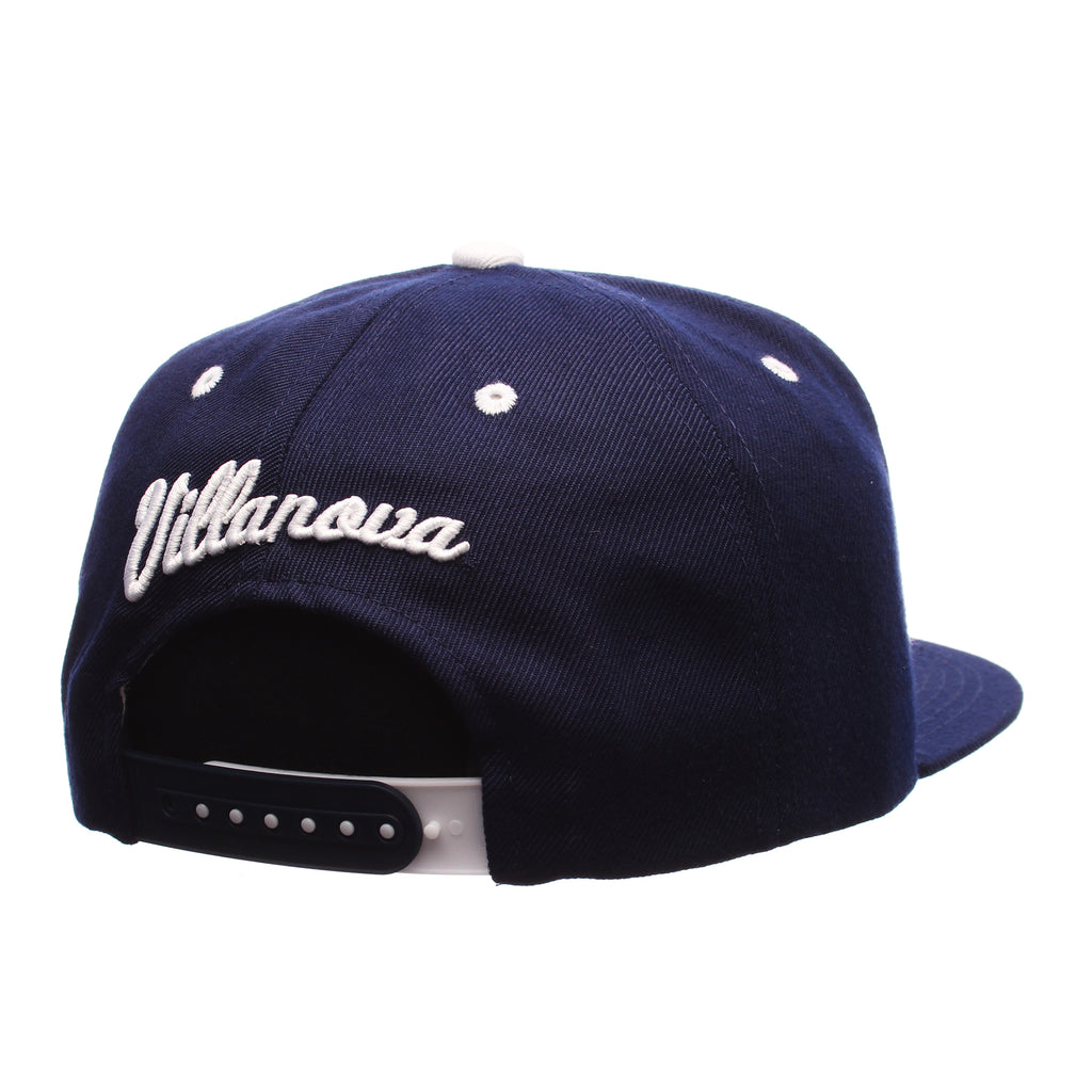 Villanova University Z11 32/5 (High) (V) Navy ZClassic Adjustable hats by Zephyr