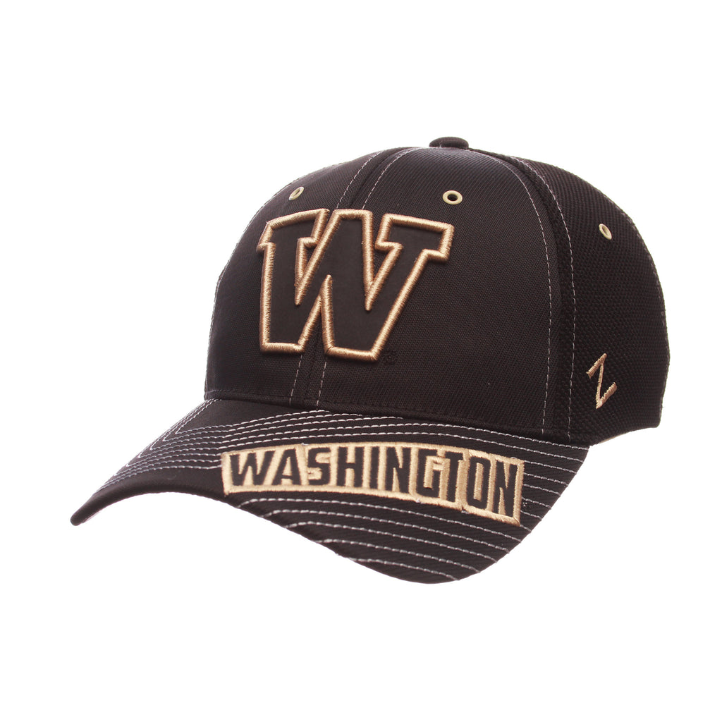 Washington Black Friday Slant Standard (Low) (W) Varied Colors Varied Panels Stretch Fit hats by Zephyr