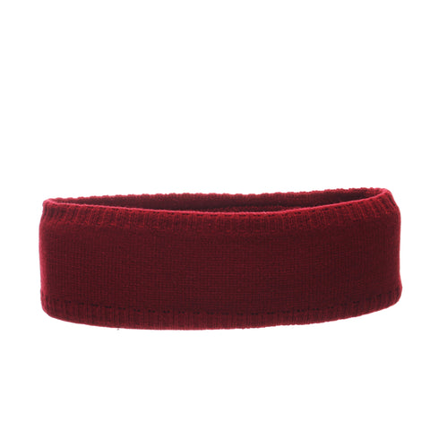 Washington State University Halo Headband (COUGARS) Cardinal/White Knit Adjustable hats by Zephyr