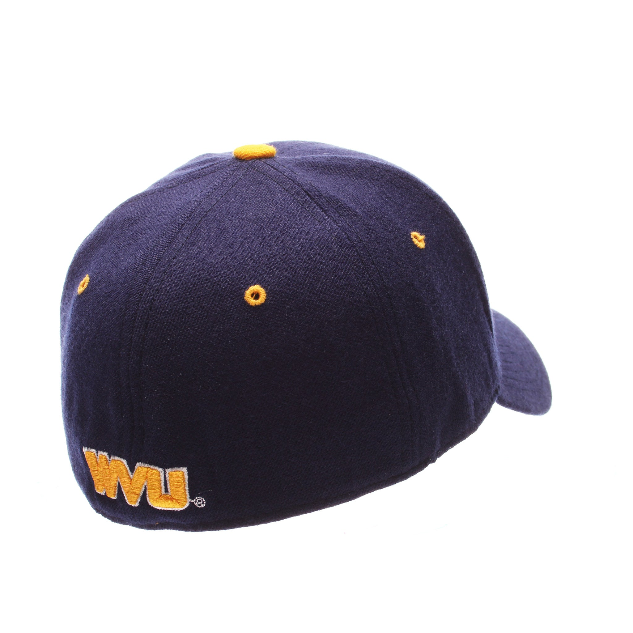 West Virginia DH Standard (Low) (WV) Navy Zwool Fitted hats by Zephyr