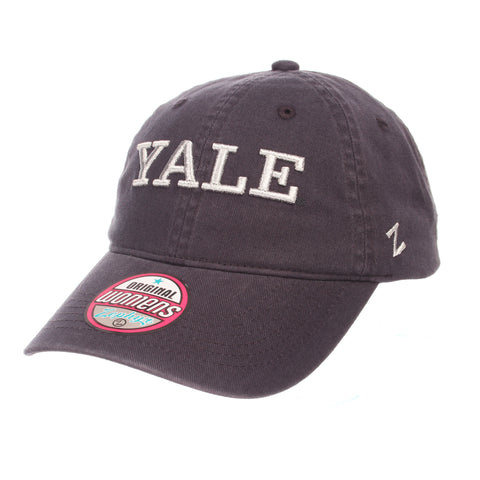 Yale University Girlfriend Womens Unstructured (YALE) Navy Light Washed  Adjustable hats by Zephyr 36d309a77277