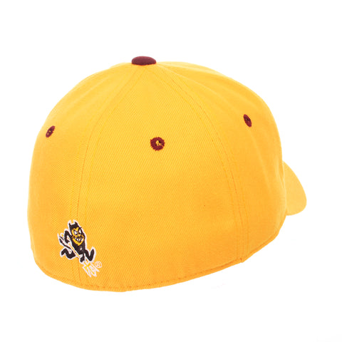 Arizona State University DH Standard (Low) (AS) Gold Zwool Fitted hats by Zephyr