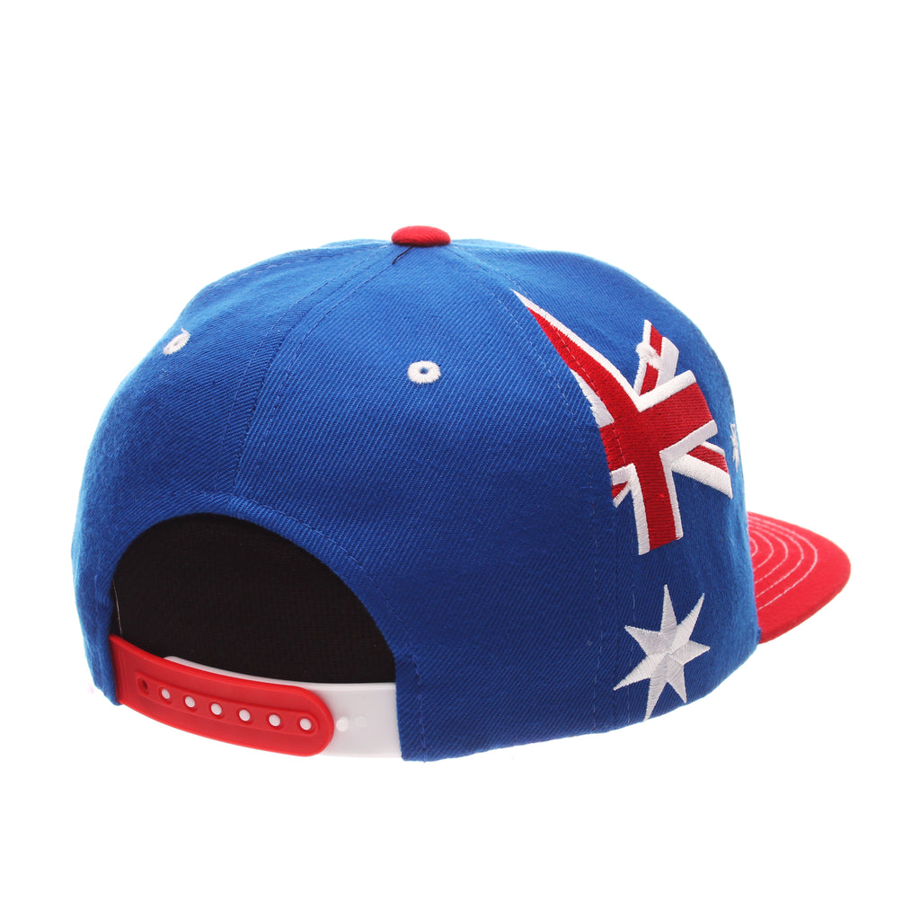 COUNTRY Victory 32/5 (High) (AUSTRALIA W/LINES) Royal Surf Zwool Adjustable hats by Zephyr