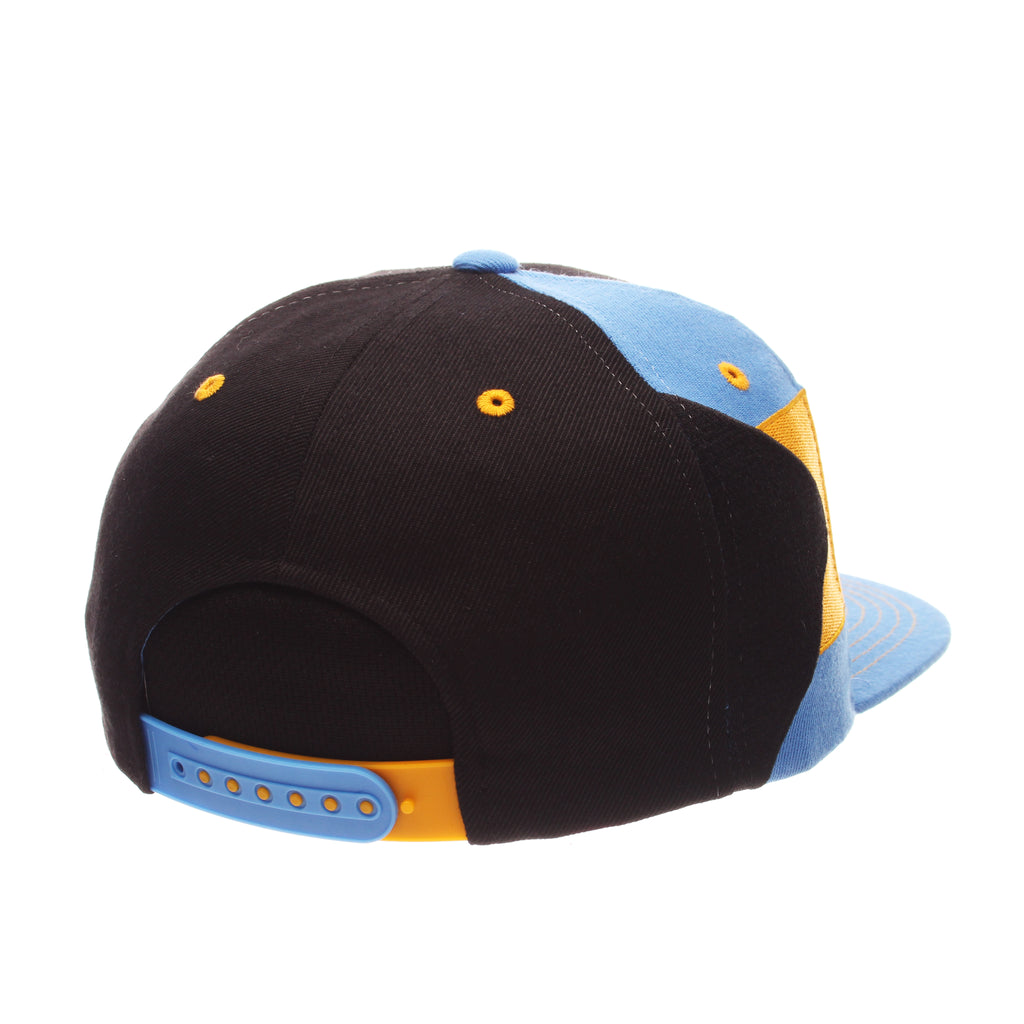 COUNTRY Victory 32/5 (High) (BAHAMAS W/LINES) Black Zwool Adjustable hats by Zephyr