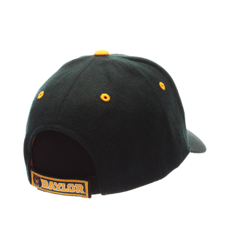 Baylor University Competitor Standard (Low) (BU) Forest Dark Zwool Adjustable hats by Zephyr