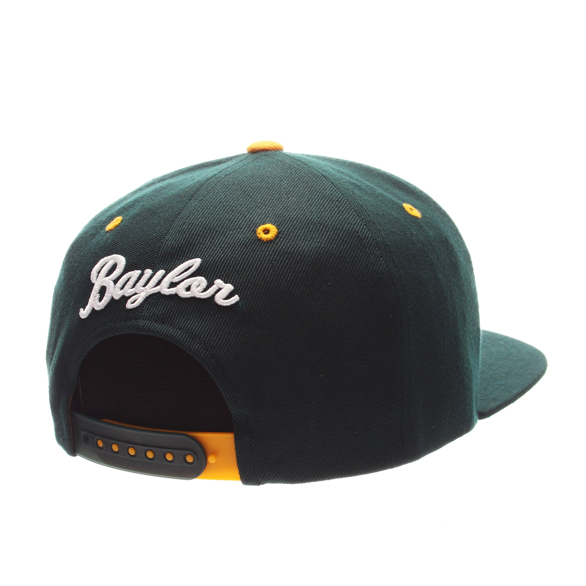 Baylor University Z11 32/5 (High) (BU) Forest Dark Zwool Adjustable hats by Zephyr