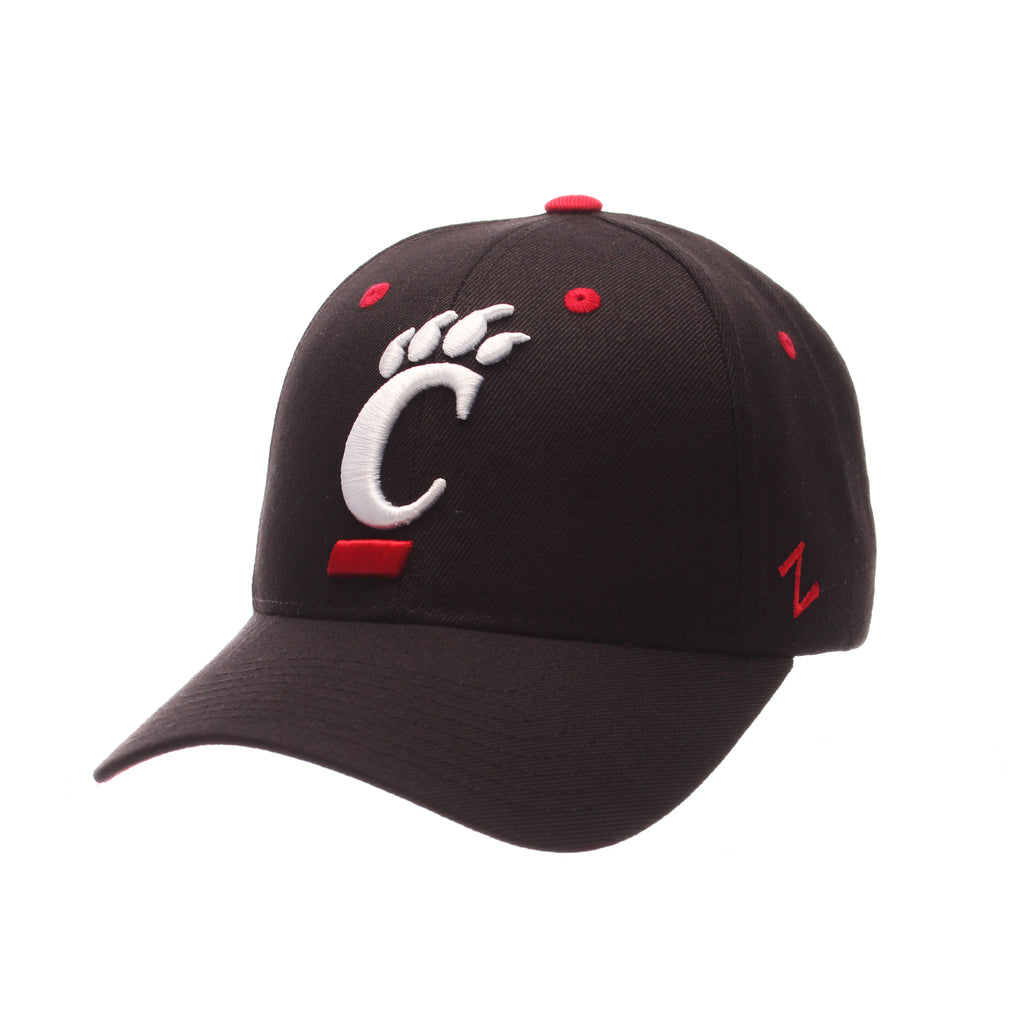 Cincinnati Competitor Standard (Low) (C PAW) Black Zwool Adjustable hats by Zephyr