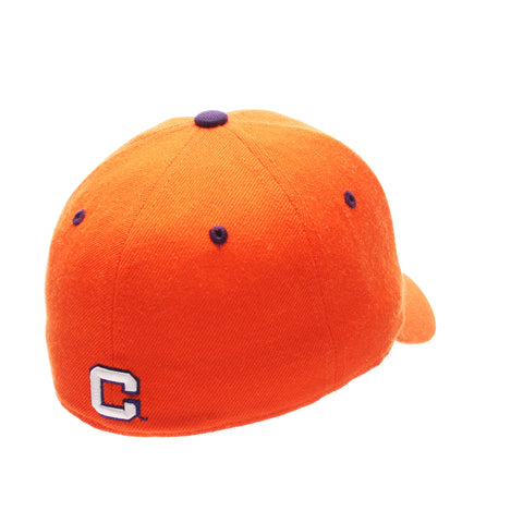 Clemson University DHS Standard (Low) (PAW) Orange Zwool Fitted hats by  Zephyr 352d9749a318