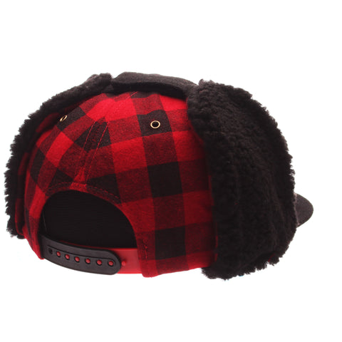 Cornell University Forester 32/5 (High) (C) Heather Gray Dark Melton Wool Adjustable hats by Zephyr