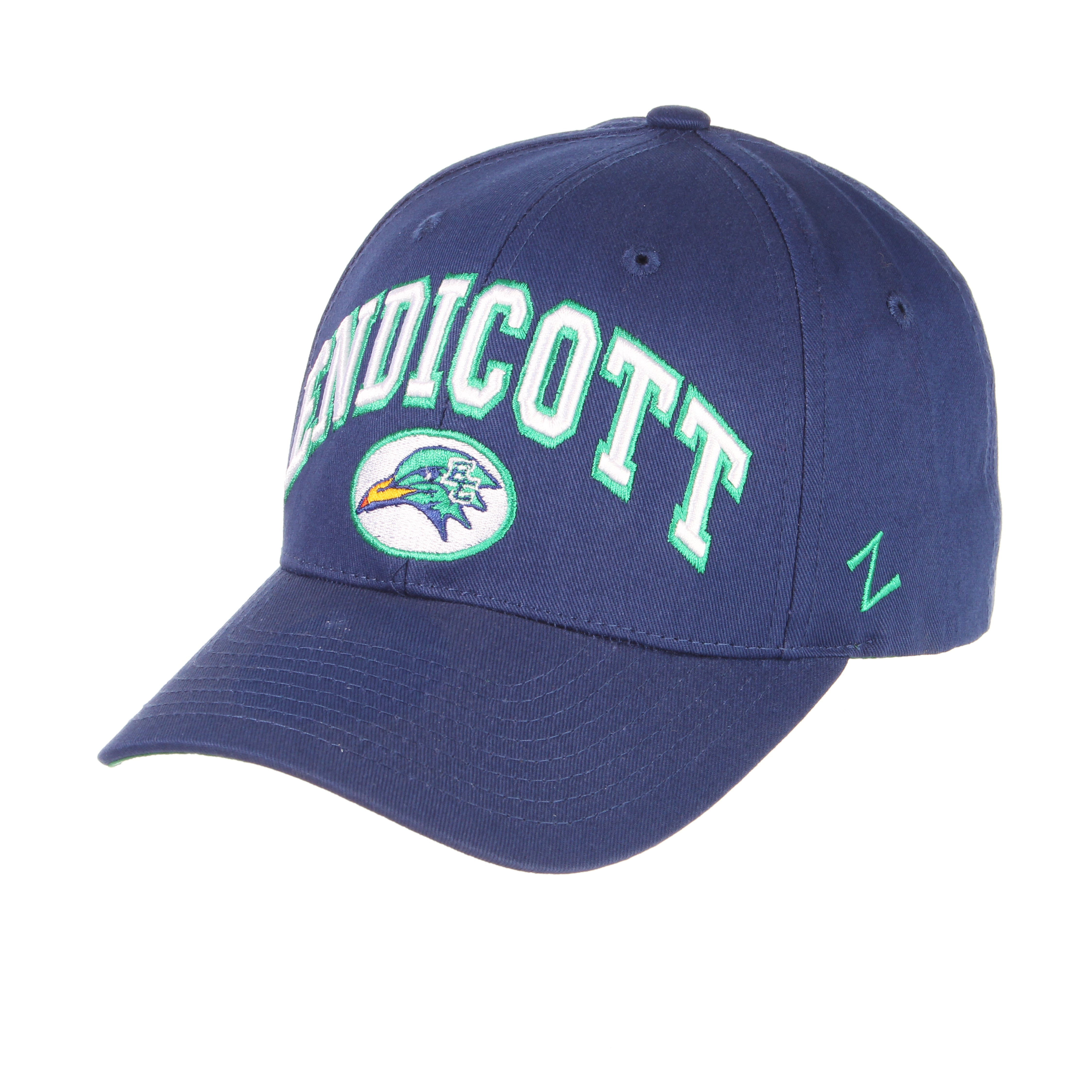 Endicott College Sport Standard (Low) (ENDICOTT/SEAGULL) Royal Dark 100% Cotton Twill Adjustable hats by Zephyr