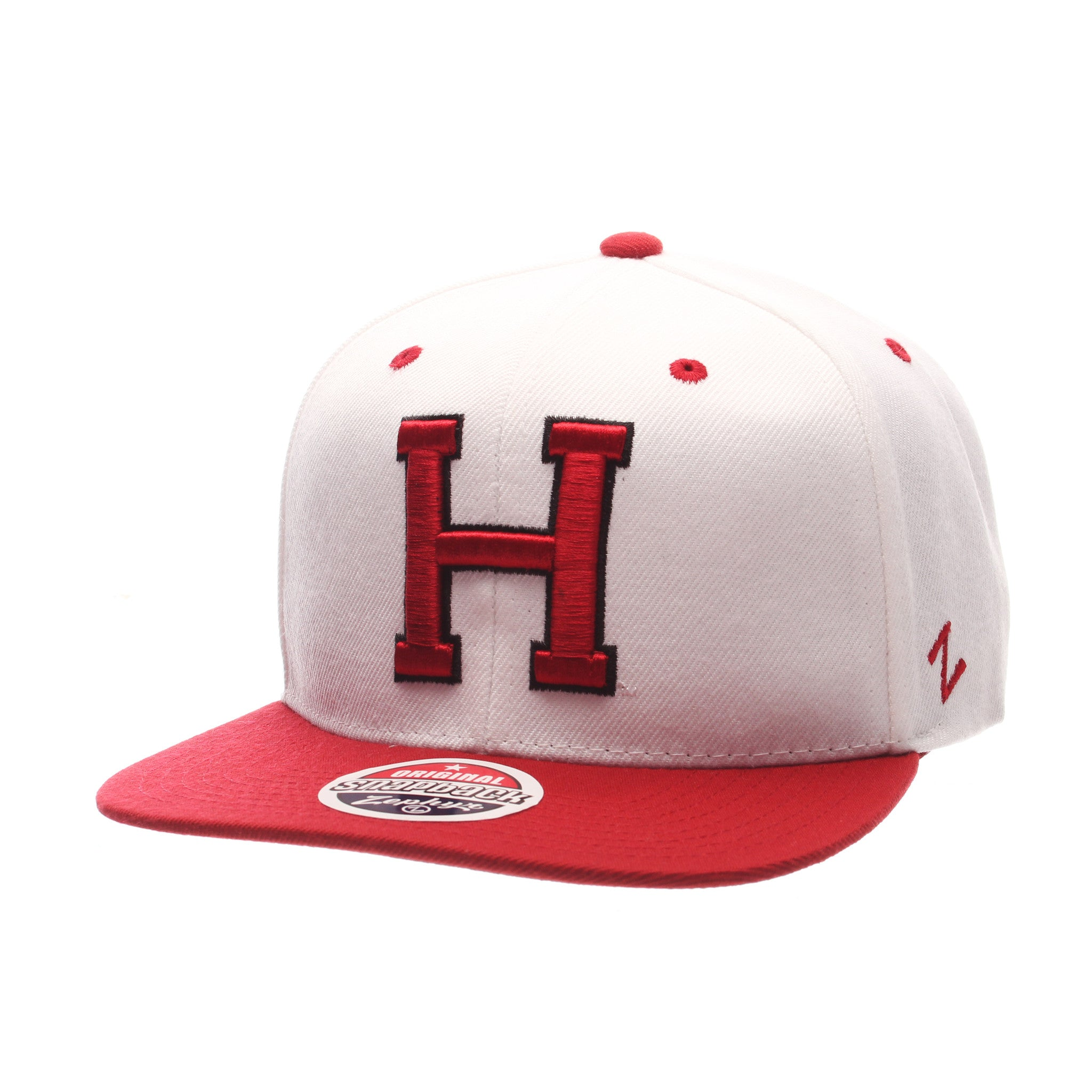 Harvard University Z11 32/5 (High) (H) White Zwool Adjustable hats by Zephyr