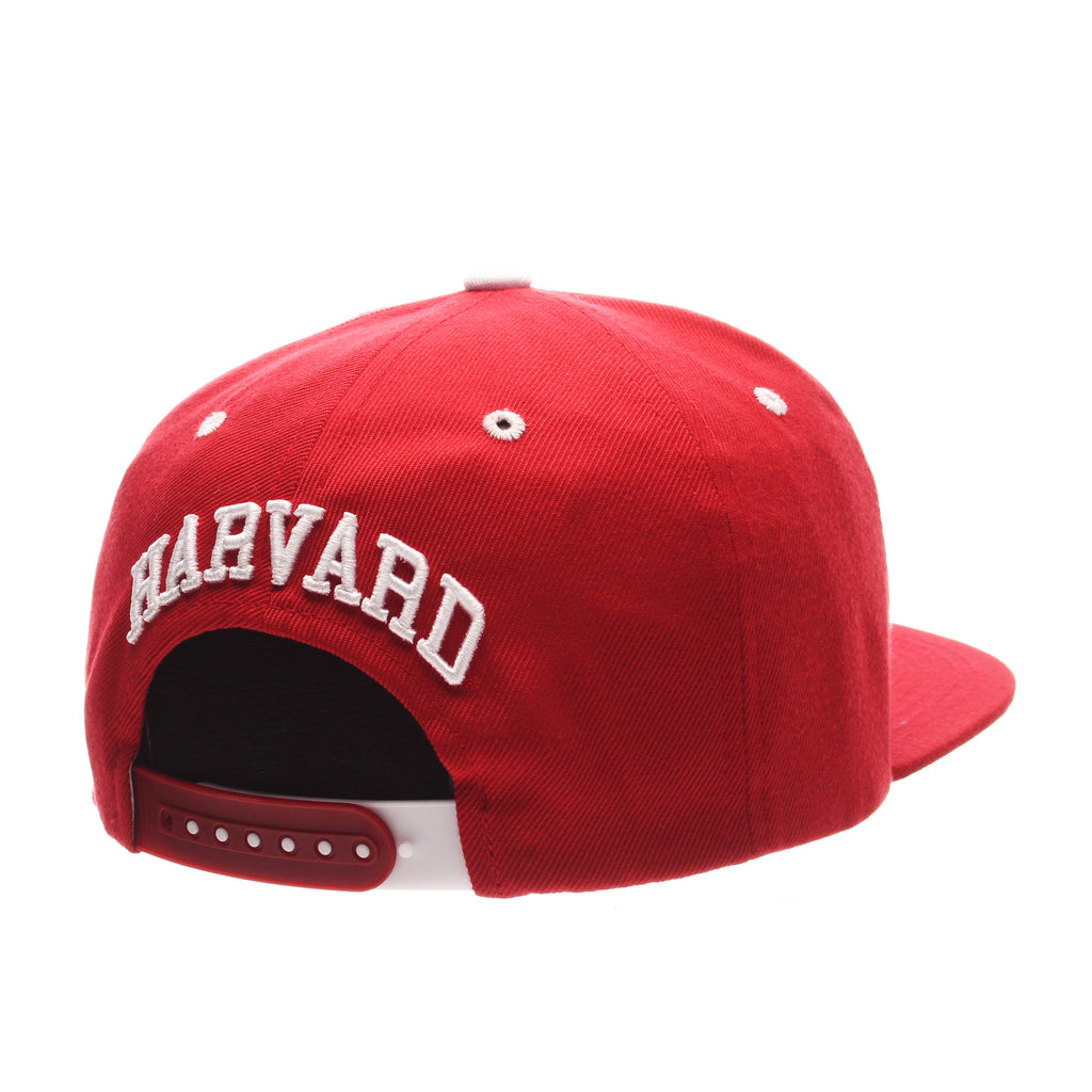 Harvard University Z11 32/5 (High) (H) Red Dark Zwool Adjustable hats by Zephyr