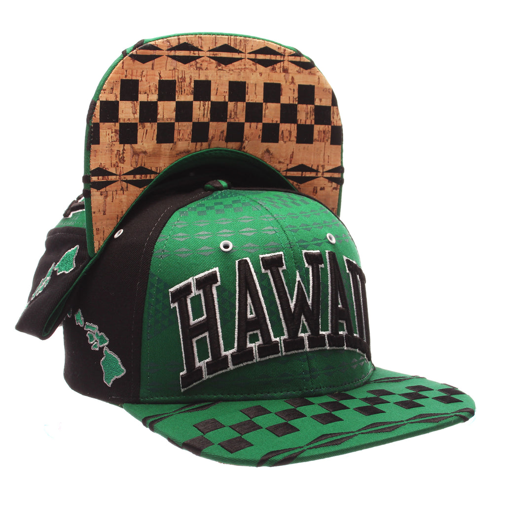 COUNTRY Custom 32/5 (High) (HAWAII/ PATTERN) Varied Colors Varied Panels Adjustable hats by Zephyr