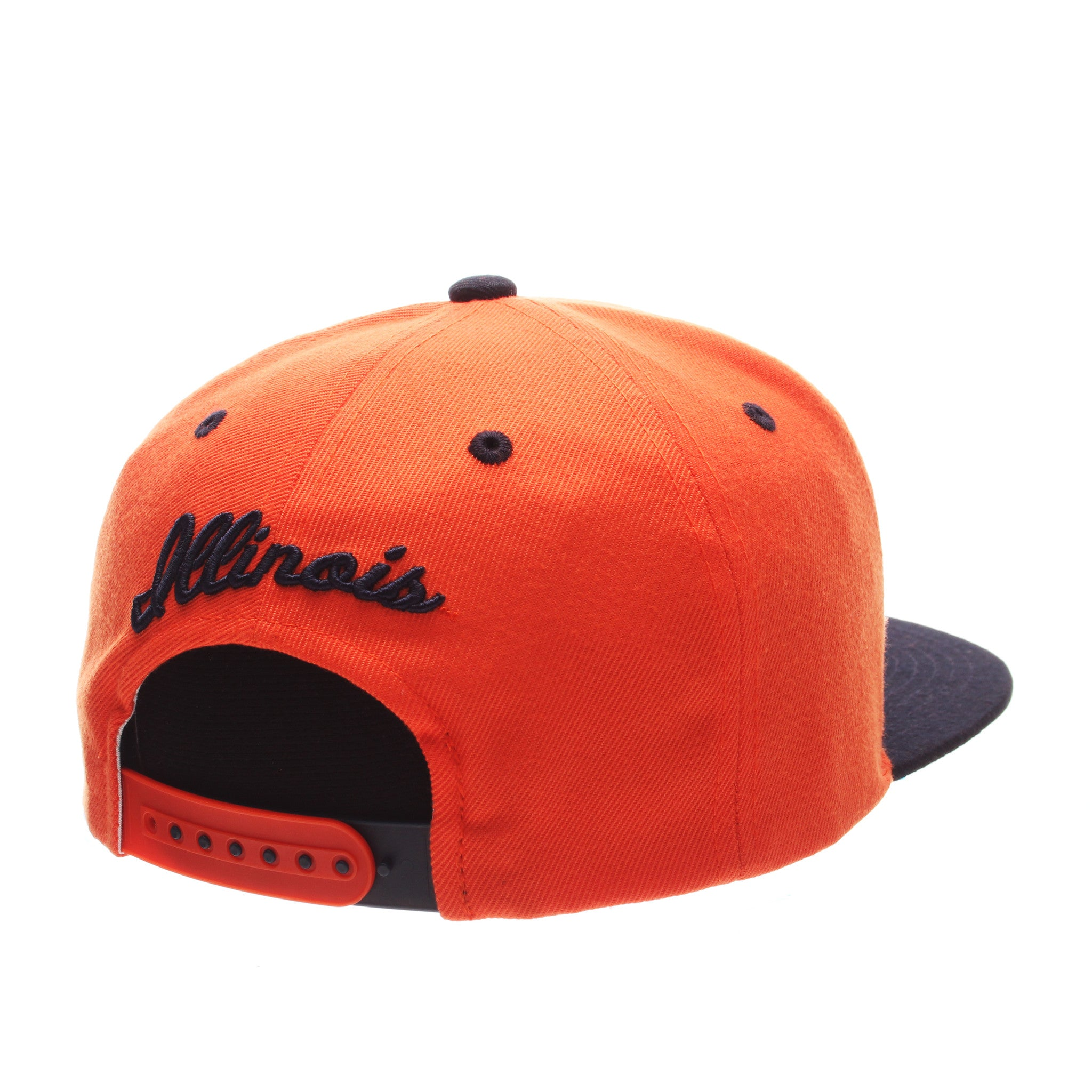 Illinois (Urbana-Champaign) Z11 32/5 (High) (I) Orange Zwool Adjustable hats by Zephyr