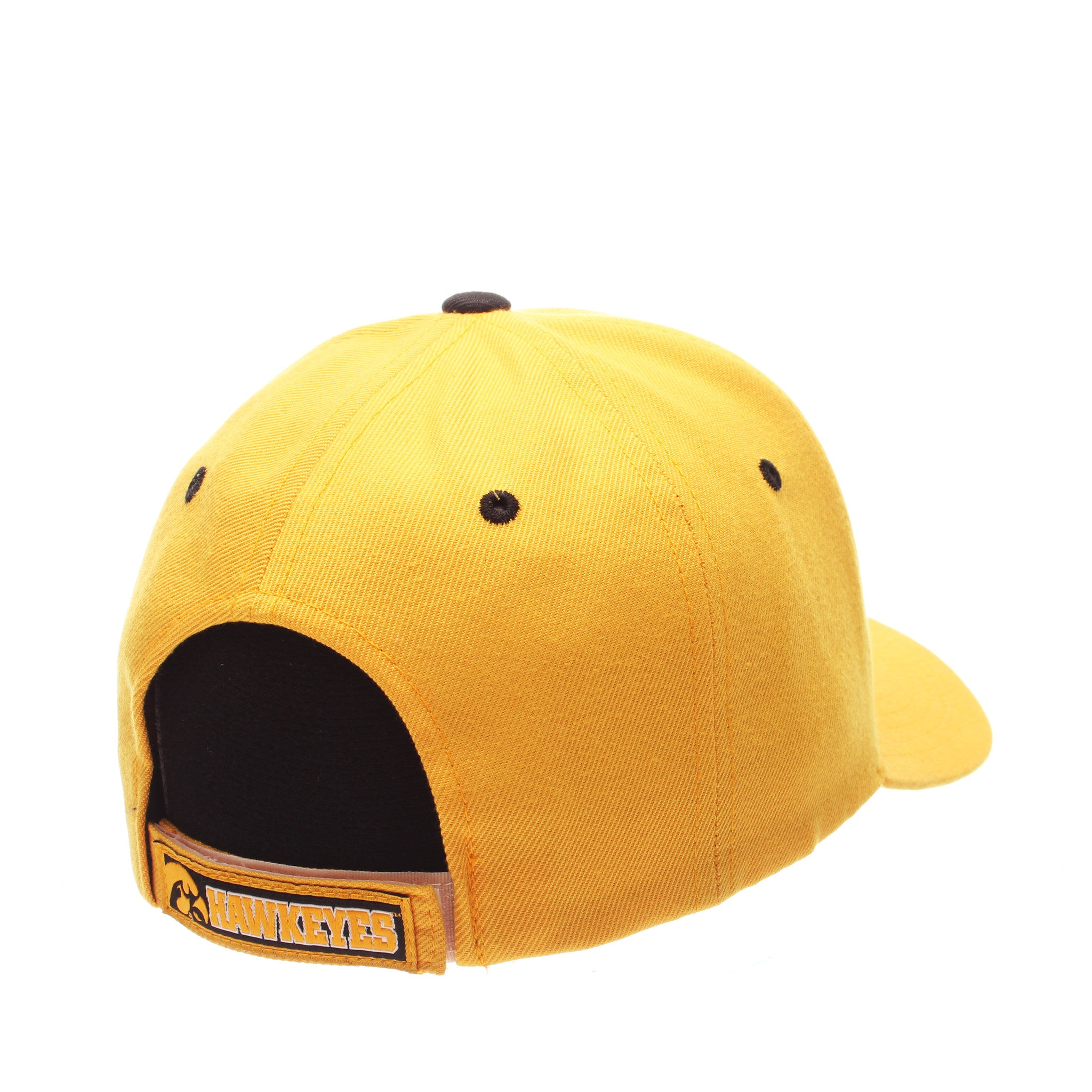 Iowa Competitor Standard (Low) (HAWKEYE) Gold Zwool Adjustable hats by Zephyr
