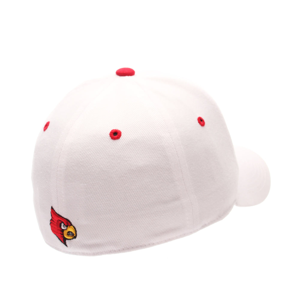 Louisville DH Standard (Low) (L) White Zwool Fitted hats by Zephyr