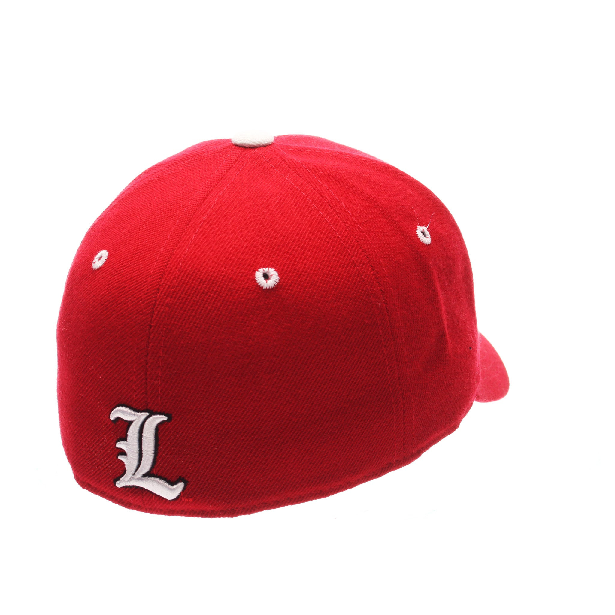 Louisville DHS Standard (Low) (CARDINAL) Red Zwool Fitted hats by Zephyr