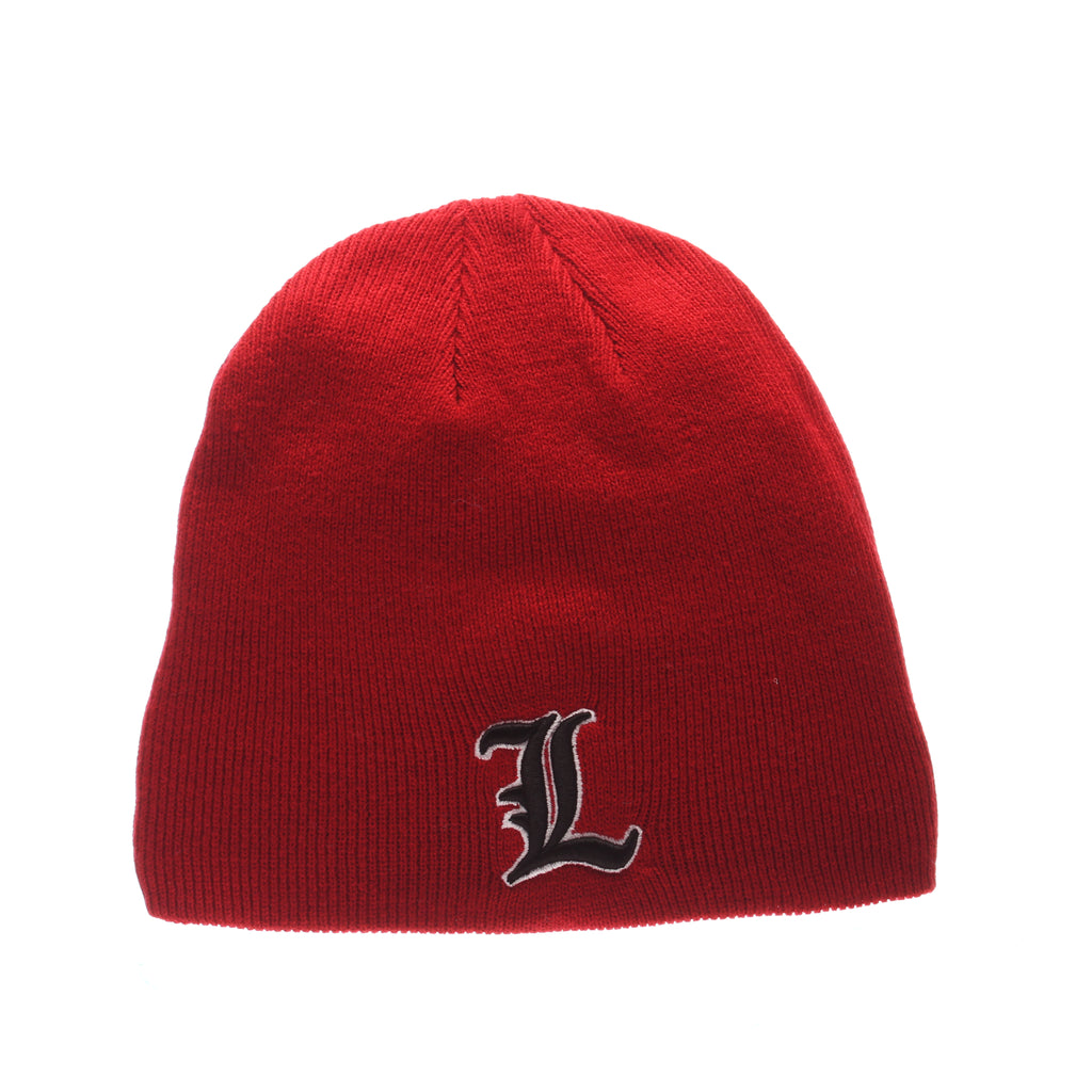 Louisville Edge Knit (Short) (L) Red Knit Adjustable KNIT hats by Zephyr