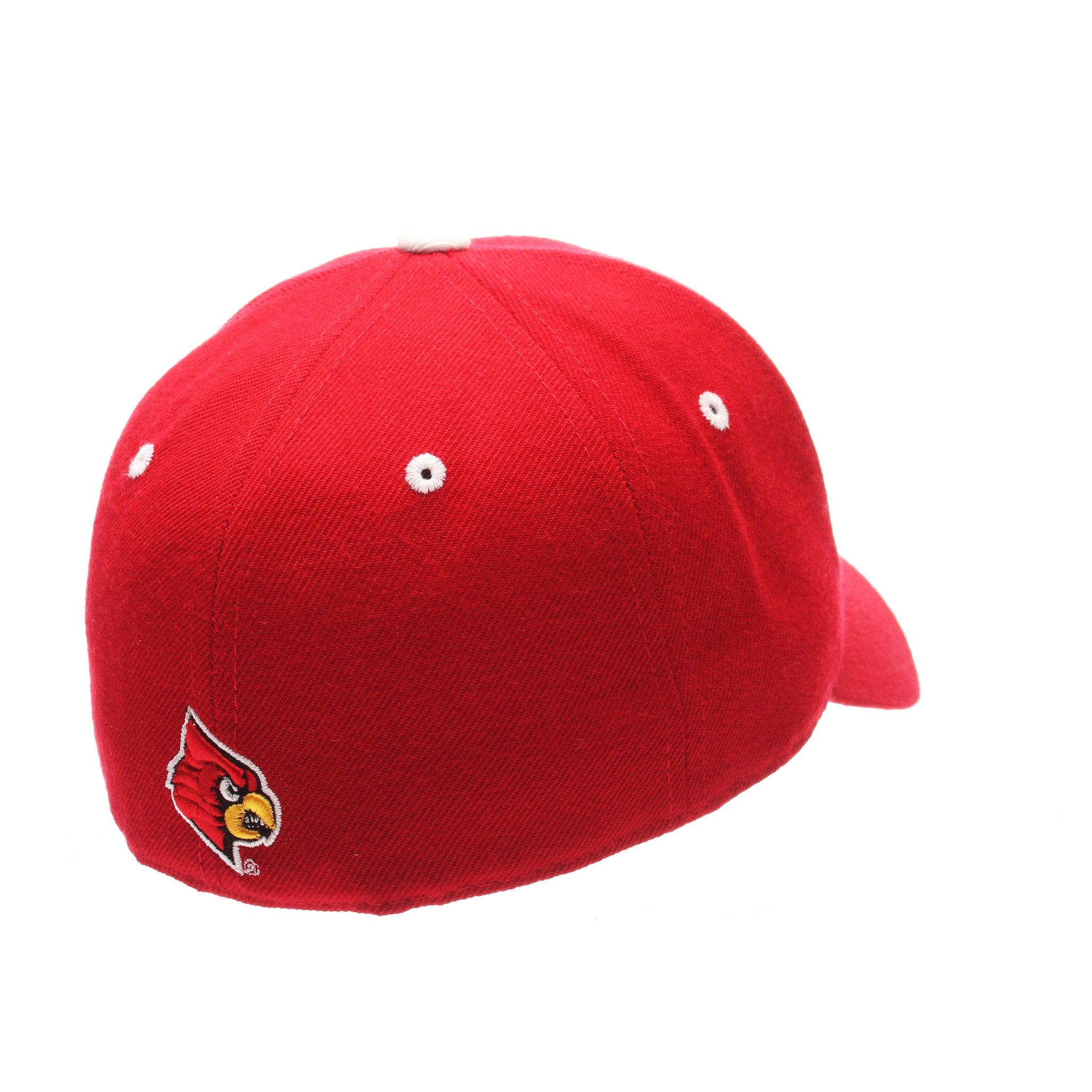 Louisville DH Standard (Low) (L) Red Zwool Fitted hats by Zephyr