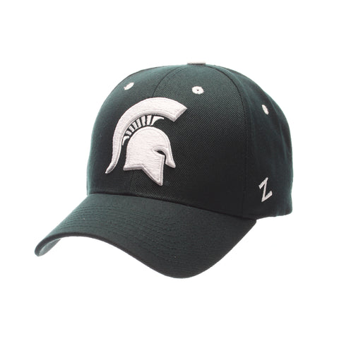 Michigan State University Competitor Standard (Low) (SPARTAN) Forest Dark  Zwool Adjustable hats 4e250a75dce