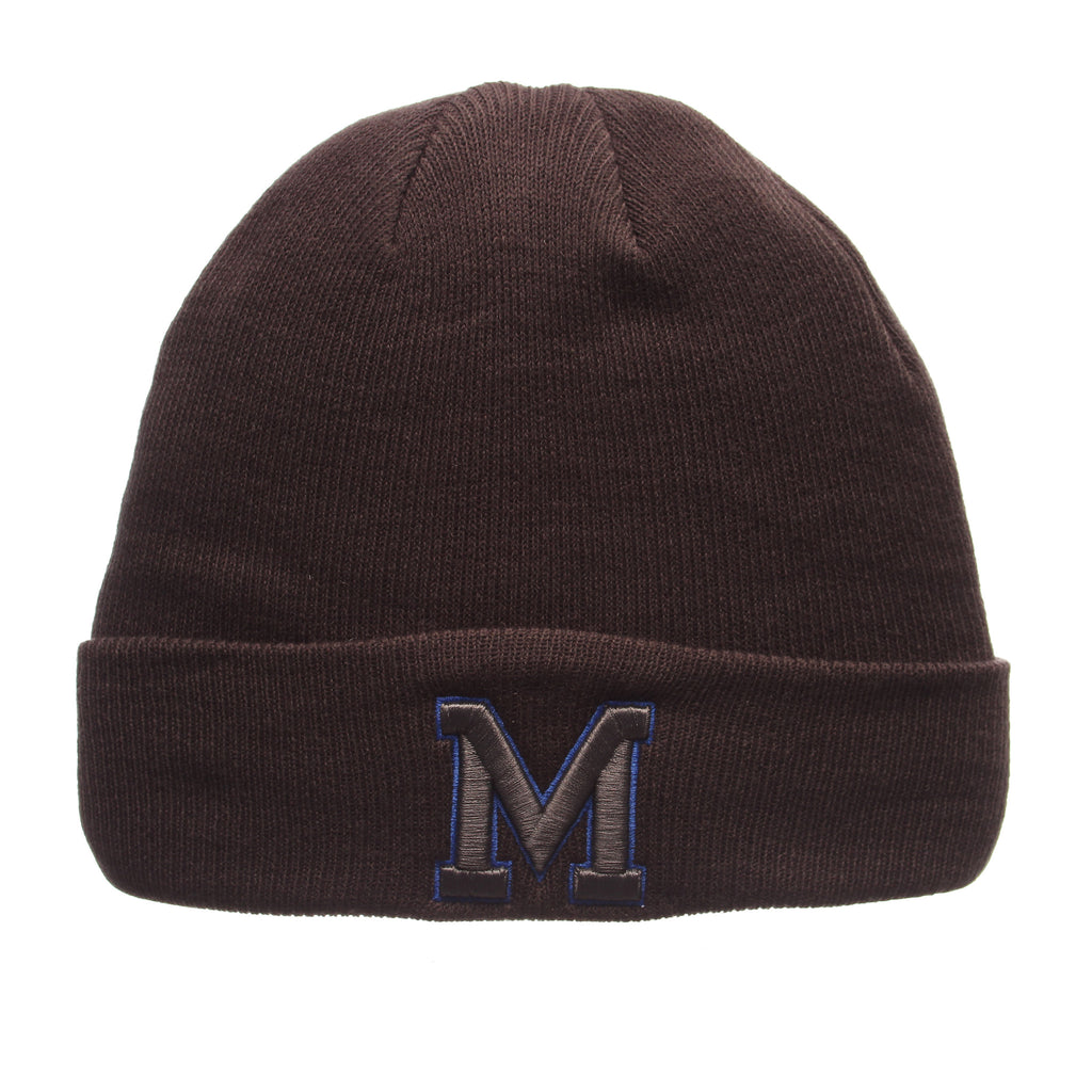 Memphis Pop Knit Knit (Fold) (M) Gray Confederate Knit Adjustable hats by Zephyr