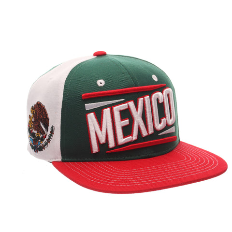COUNTRY Victory 32/5 (High) (MEXICO W/LINES) Varied Colors Varied Panels Adjustable hats by Zephyr