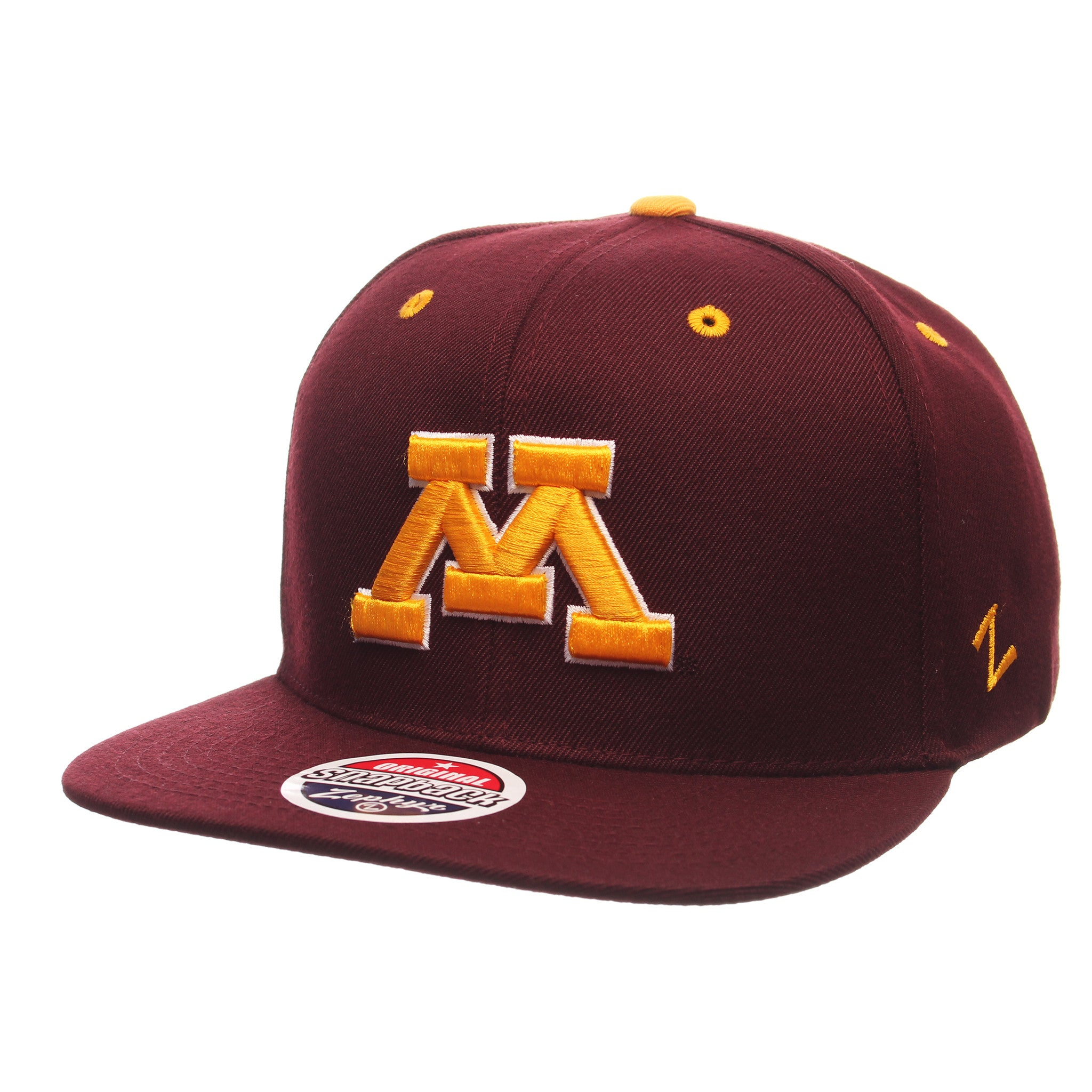 Minnesota (Minneapolis) Z11 32/5 (High) (M) Maroon Zwool Adjustable hats by Zephyr