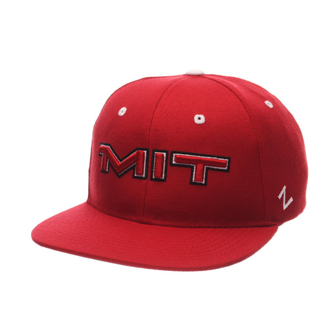 Massachusetts Institute of Technology Z11 32/5 (High) (MIT) Red Dark Zwool Adjustable hats by Zephyr