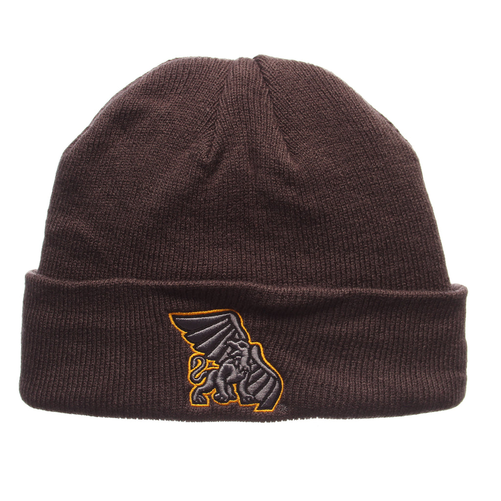 Missouri Western State University Pop Knit Knit (Fold) (GRIFFON) Gray Confederate Knit Adjustable hats by Zephyr