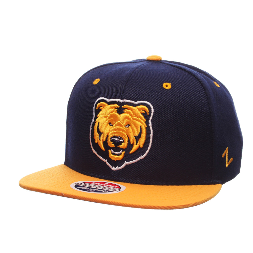 Northern Colorado Z11 32/5 (High) (BEAR HEAD) Navy Zwool Adjustable hats by Zephyr