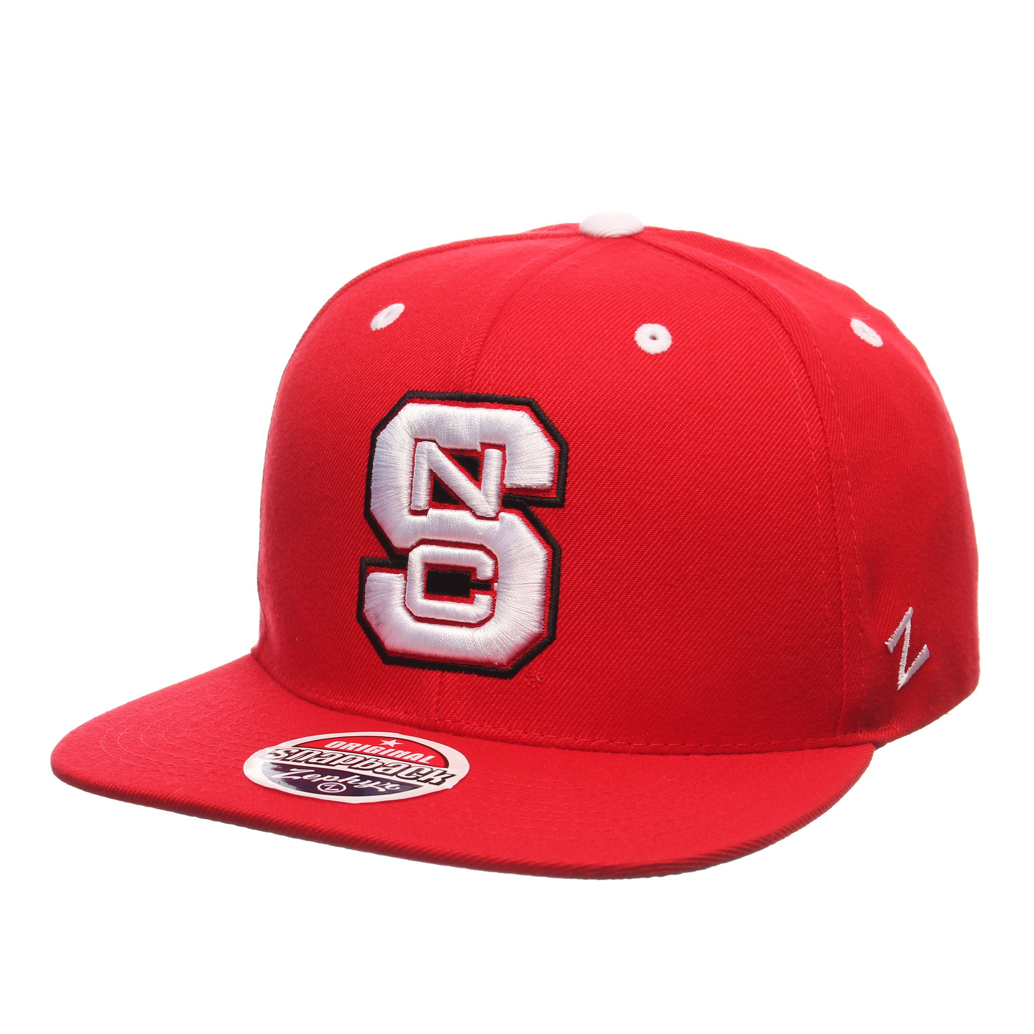 North Carolina State University Z11 32/5 (High) (Snc) Scarlet Zwool Adjustable hats by Zephyr
