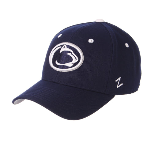 Penn State University DHS Standard (Low) (LION HEAD) Navy Zwool Fitted hats by Zephyr