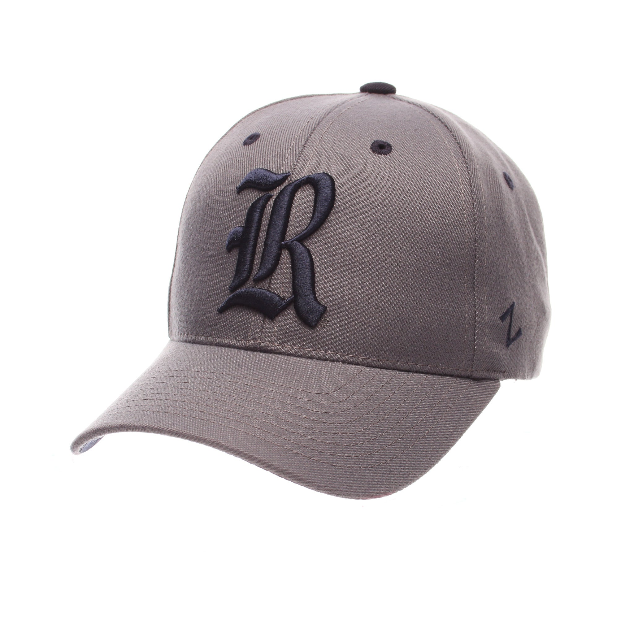 Rice University Competitor Standard (Low) (R) Gray Medium Zwool Adjustable hats by Zephyr