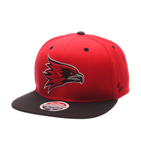 Southeast Missouri State University Z11 32/5 (High) (HAWK HEAD) Scarlet Zwool Adjustable hats by Zephyr